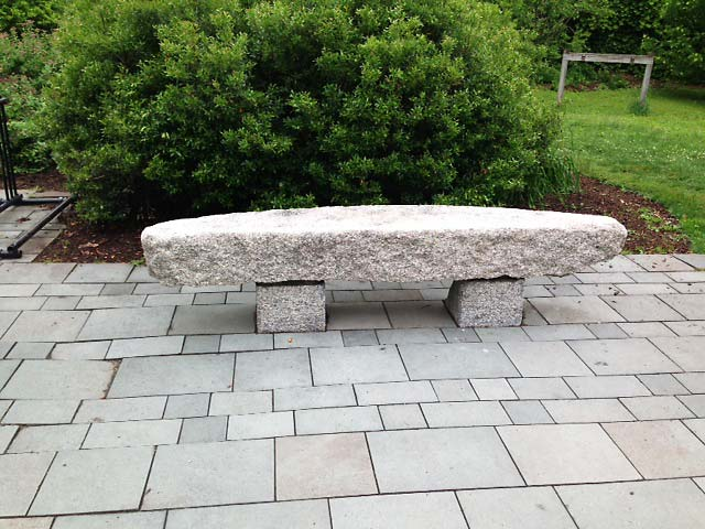 unpolished gray bench monument order granite to co benches cut special barre richardson inc